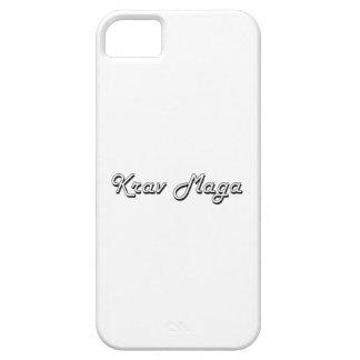 Krav Maga Classic Retro Design iPhone 5 Case
