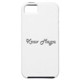 Krav Maga Classic Retro Design iPhone 5 Cover