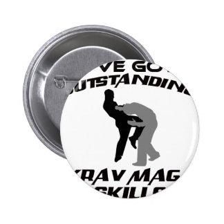Krav Maga Designs Button