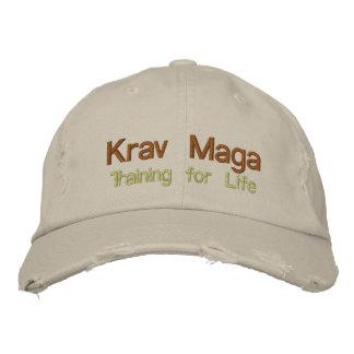 Krav Maga, entrenando para la vida Gorras De Beisbol Bordadas