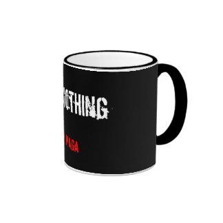 krav maga fear nothing mug cup