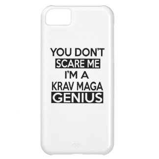 KRAV MAGA GENIUS DESIGNS iPhone 5C COVERS
