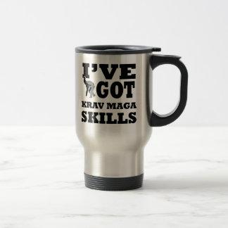 Krav Maga Martial Arts designs Travel Mug