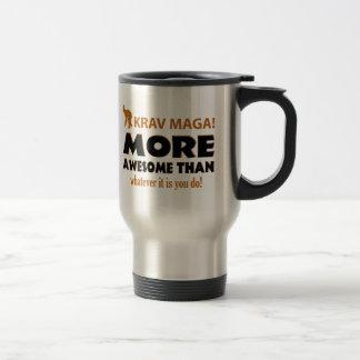 Krav Maga Martial arts gift items 15 Oz Stainless Steel Travel Mug