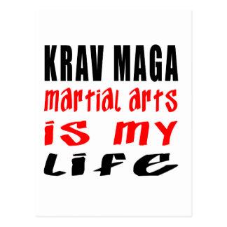 Krav Maga Martial Arts Is My Life Postcard