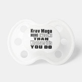 Krav Maga más impresionante que lo que es usted Chupetes Para Bebés