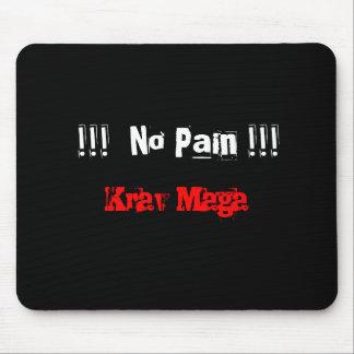 Krav Maga no pain mousemat Mouse Pad
