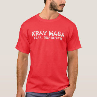 KRAV MAGA REAL self-defense T-shirt