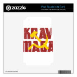 Krav Maga Russia Soviet Union Decals For iPod Touch 4G