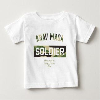 Krav Maga Soldier Baby T-Shirt