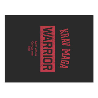 Krav Maga Warrior Postcard
