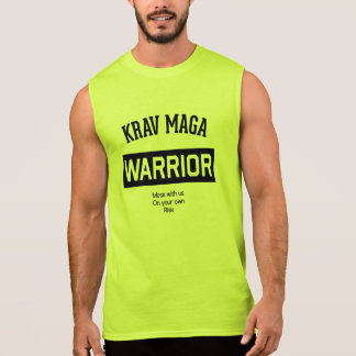 Krav Maga Warrior Sleeveless Tees