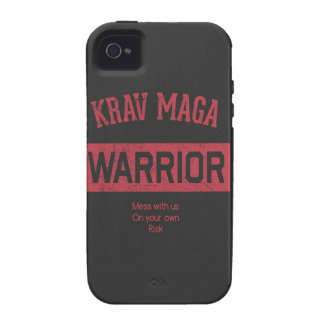 Krav Maga Warrior Vibe iPhone 4 Case