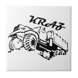 Kraz - The Soviet Russian Truck Ceramic Tile