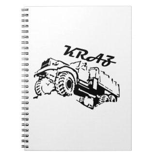 Kraz - The Soviet Russian Truck Notebook