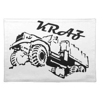 Kraz - The Soviet Russian Truck Place Mat