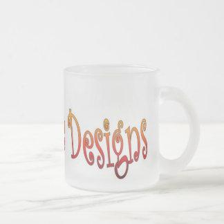 Krazy Daze 10 Oz Frosted Glass Coffee Mug