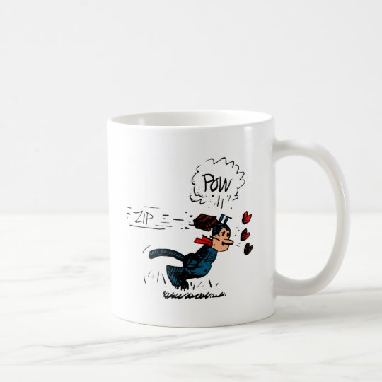 """Krazy Gets Beaned"" Coffee Mug"