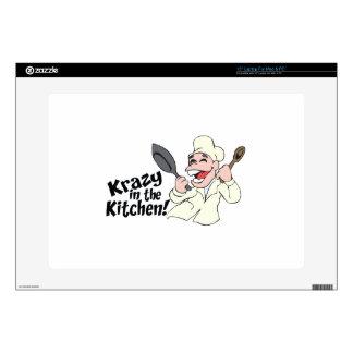 "KRAZY IN THE KITCHEN 15"" LAPTOP SKINS"