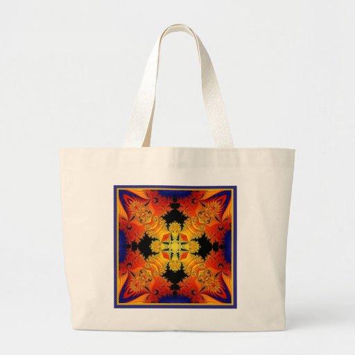 Krazy Kaleidoscope Tote Bags
