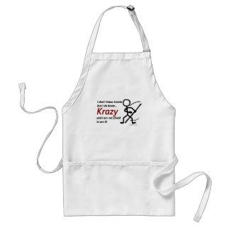 Krazy Karate Adult Apron