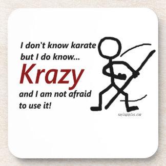 Krazy Karate Drink Coaster