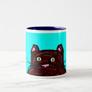 Krazy Kats Mugs- Mittens Two-Tone Coffee Mug