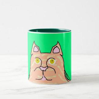 Krazy Kats Mugs- Muffin Two-Tone Coffee Mug