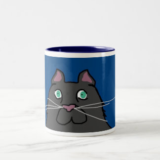 Krazy Kats Mugs- Romeo Two-Tone Coffee Mug