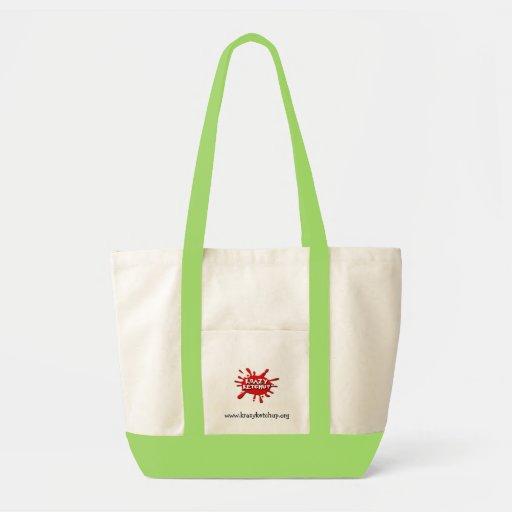 Krazy Ketchup totes Impulse Tote Bag