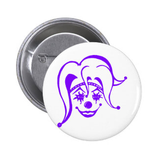 Krazy Klown Pinback Button