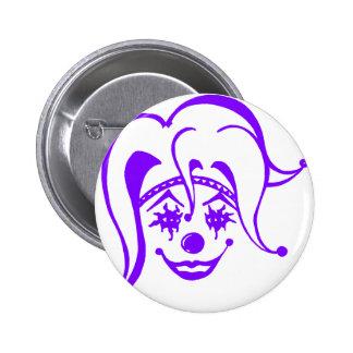 Krazy Klown Pinback Buttons