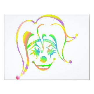 Krazy Klown Personalized Announcement