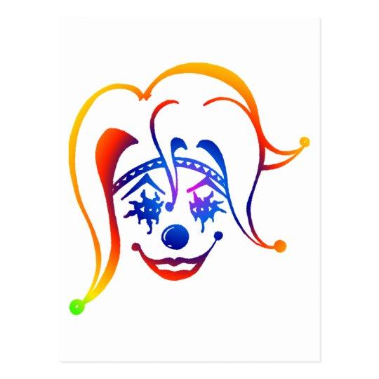 Krazy Klown Postcard