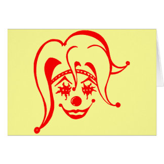 Krazy Klown Tarjeton