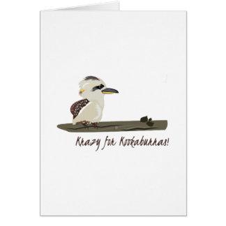 Krazy Kookaburras Greeting Card