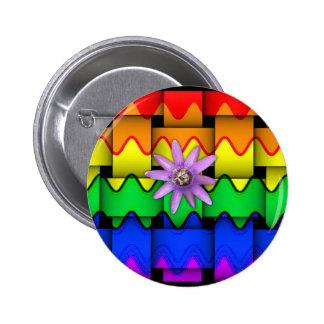 Krazy Rainbow Flag Buttons
