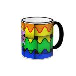 Krazy Rainbow Flag Coffee Mugs