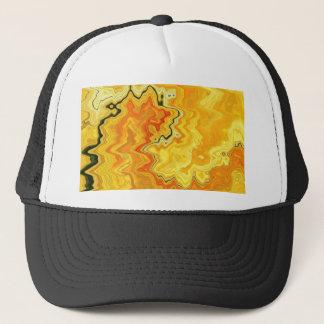 Krazy Yellow Trucker Hat