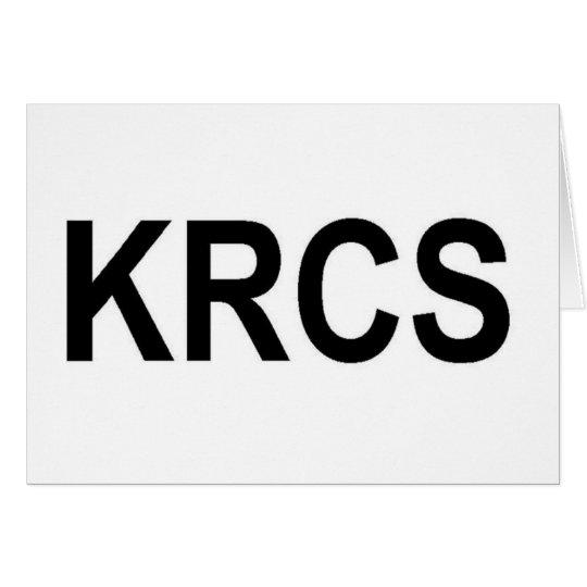 KRCS CARD