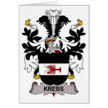 Krebs Family Crest Cards
