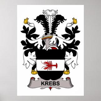 Krebs Family Crest Print