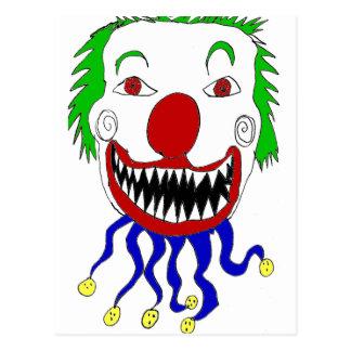 Kreepy Klown Postales