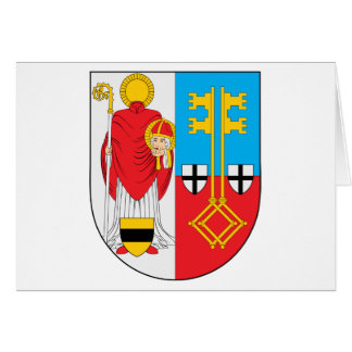 Krefeld Coat of Arms Greeting Card