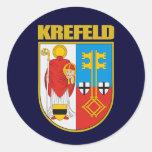 Krefeld Etiquetas Redondas