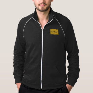 Krefeld, Germany Road Sign Jacket