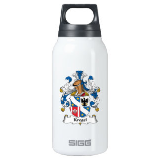 Kregel Family Crest 10 Oz Insulated SIGG Thermos Water Bottle
