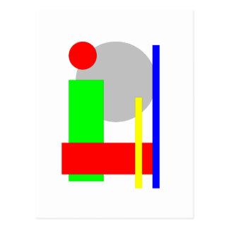 kreis-quadrat postcard