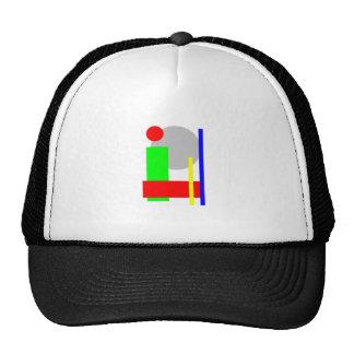 kreis-quadrat trucker hat