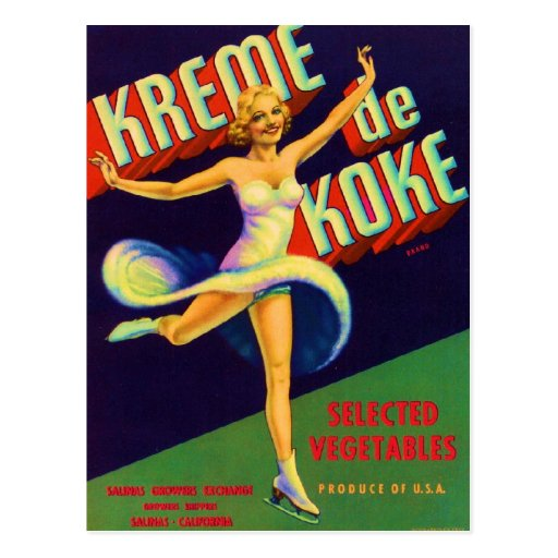 Kreme de Koke Postcard